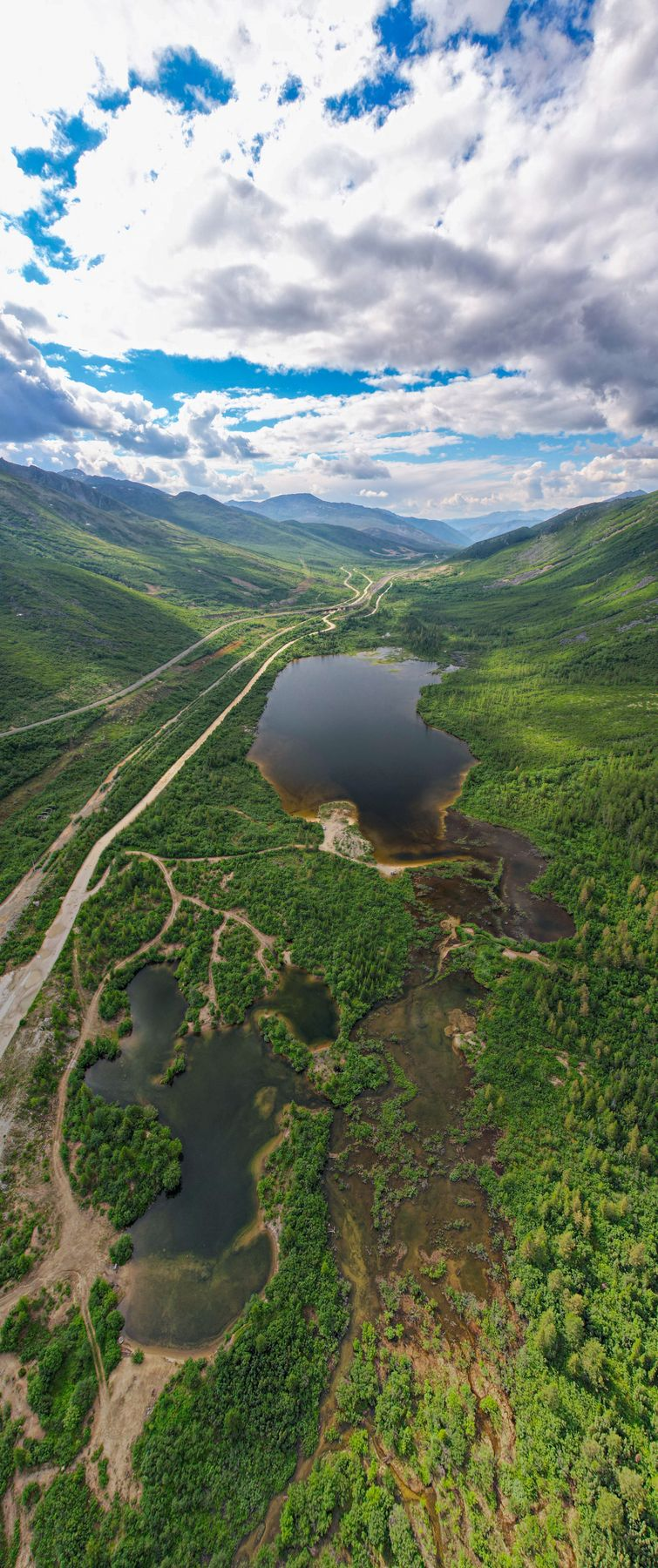 БАМ. Озера Северомуйский перевал
