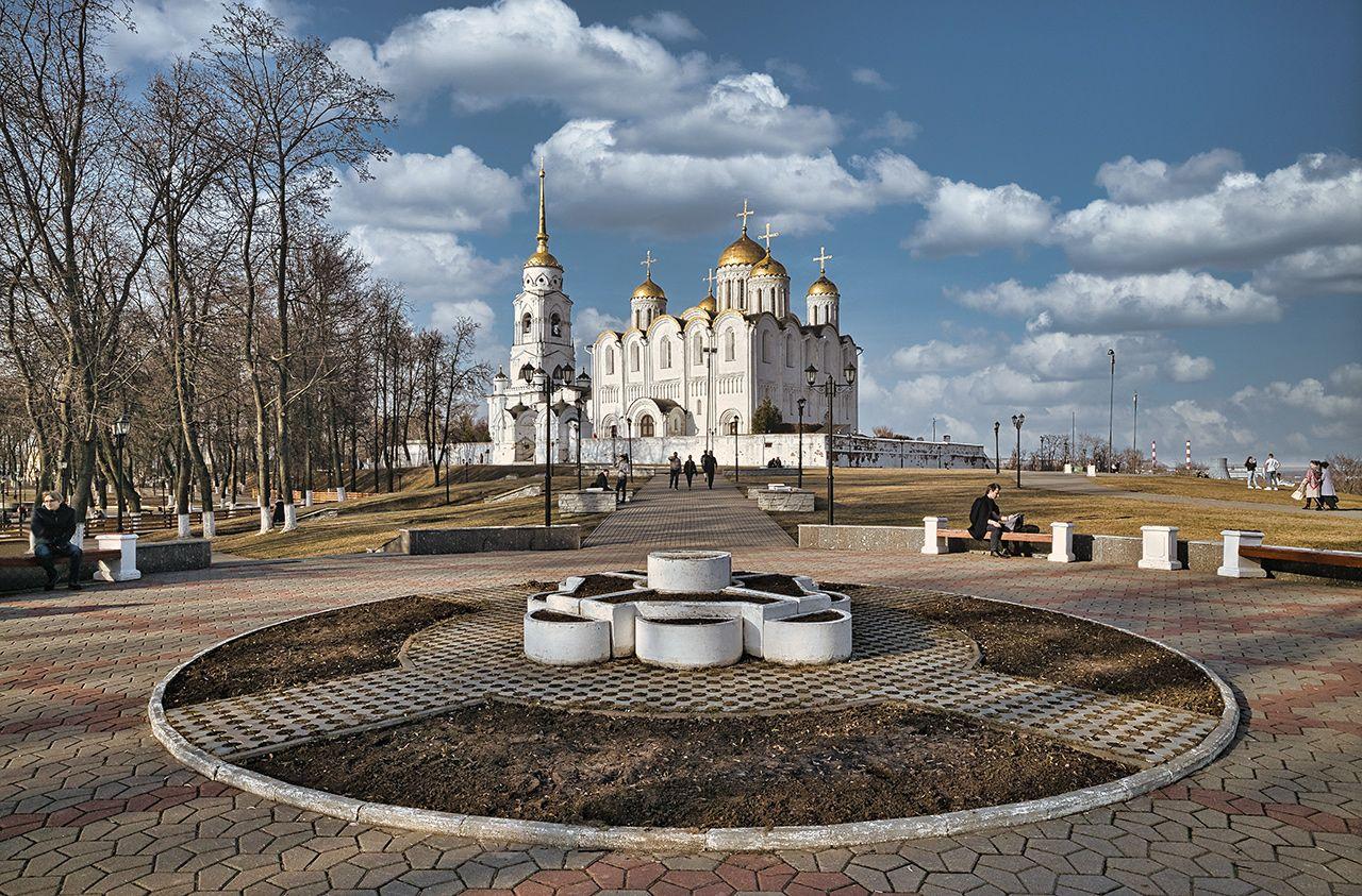 Весна во Владимире Весна Владимир Успенский собор