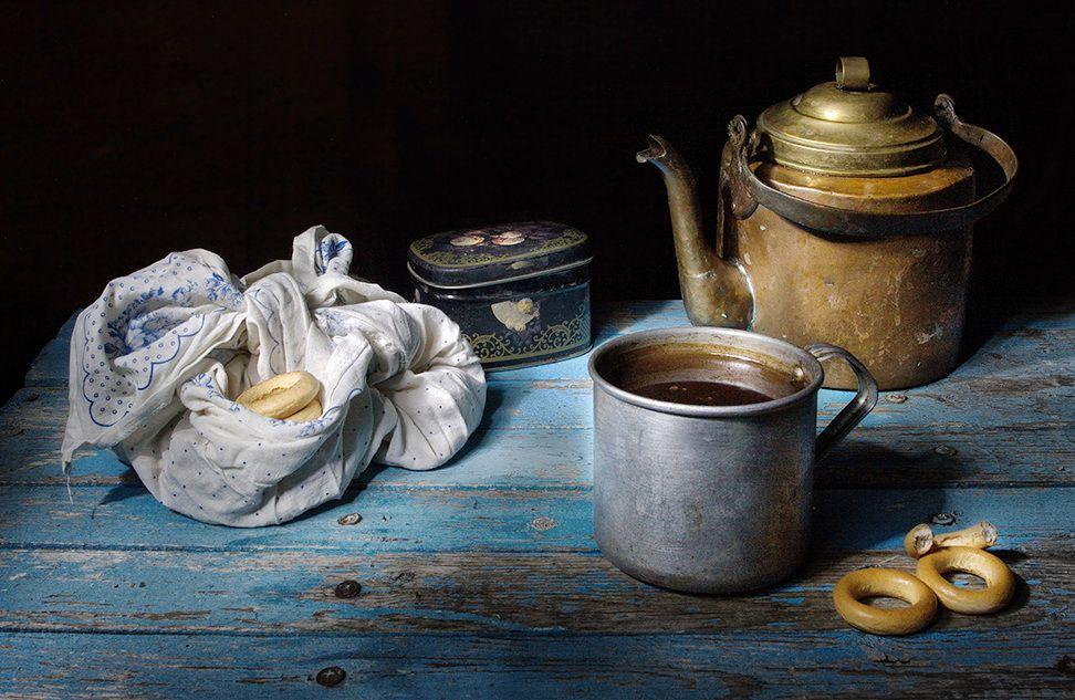 чай с баранками