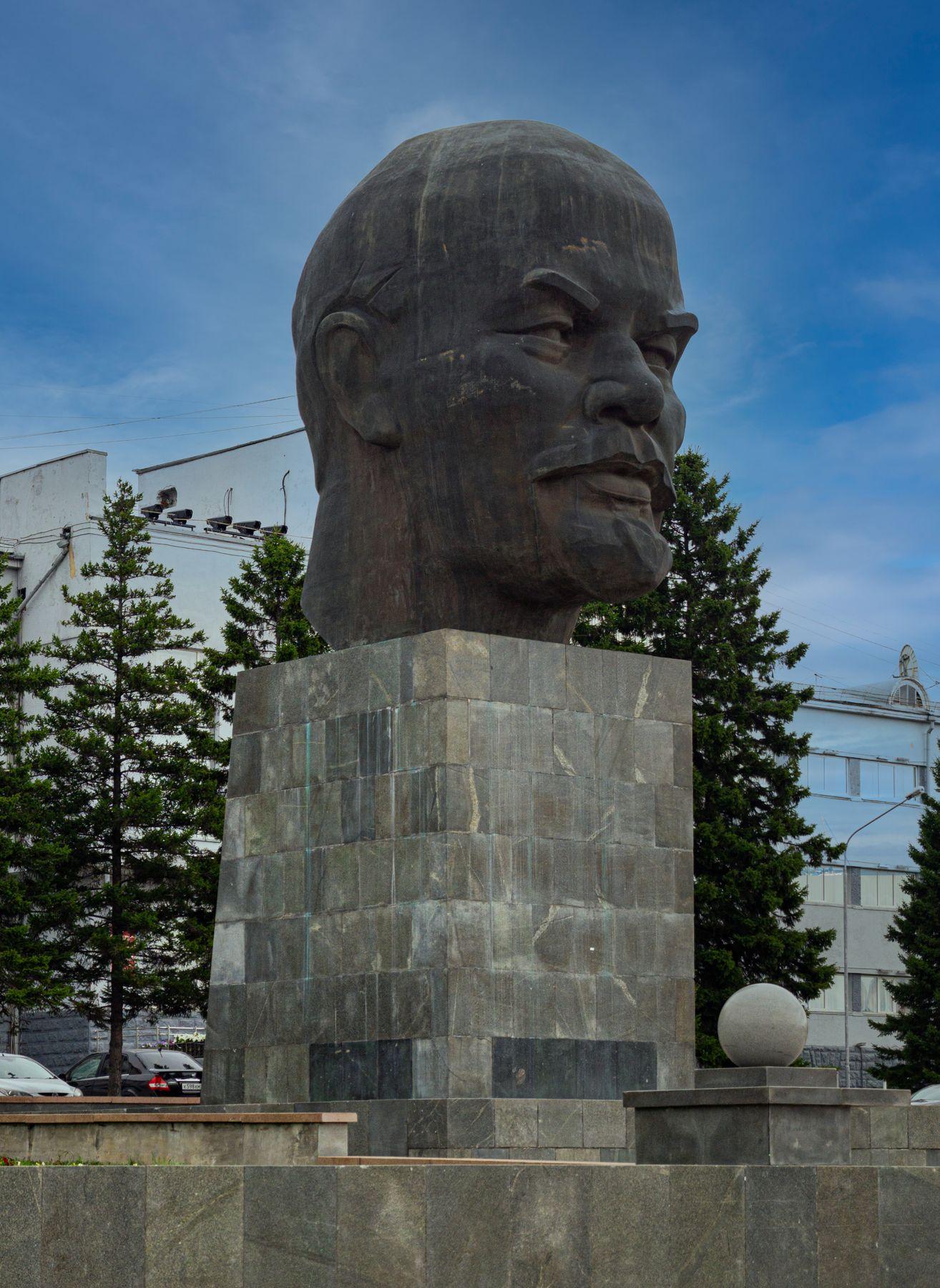 *** Россия Улан-Удэ Бурятия памятник Ленин