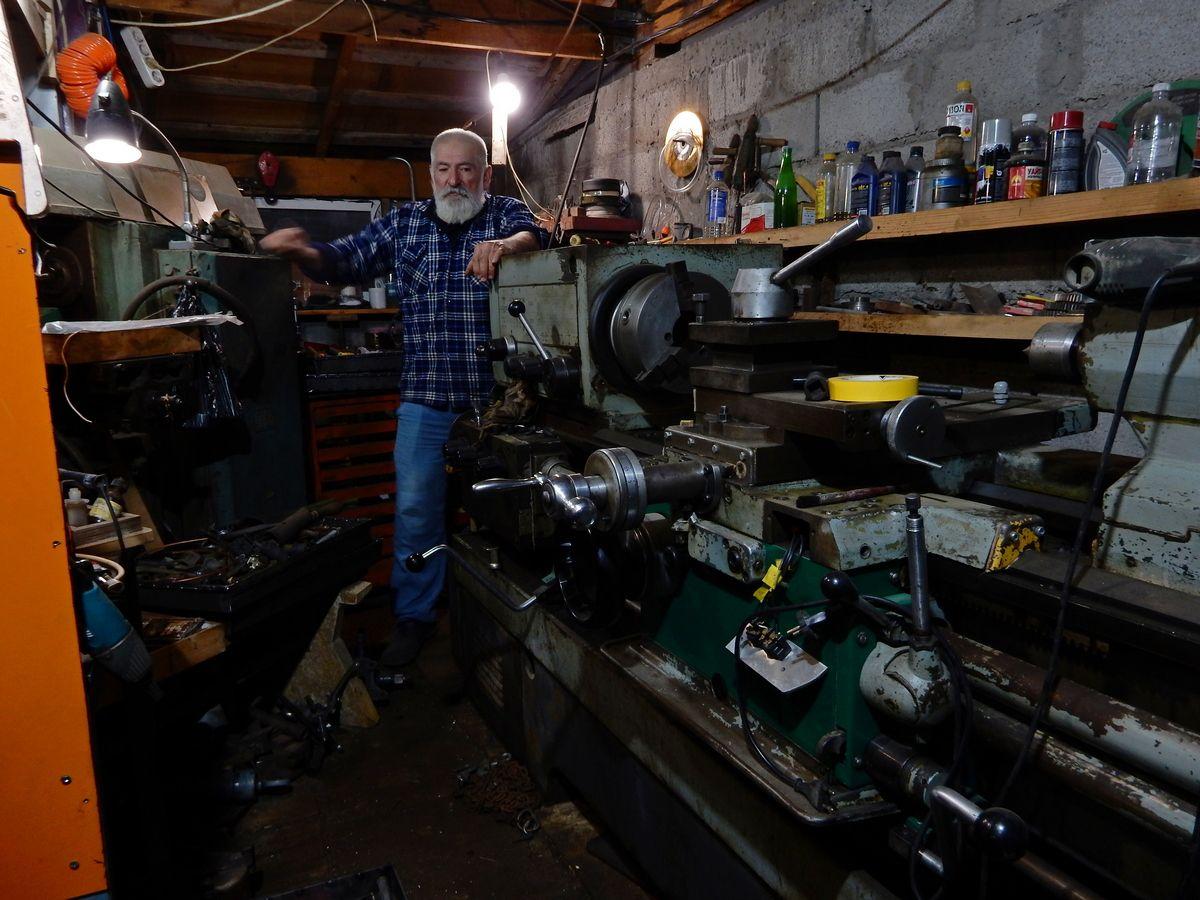 ностальгия .. гараж промышленность индустриализация