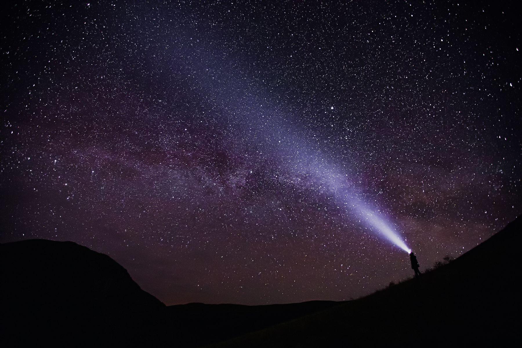 Путь к звёздам Урал горы звезды млечный путь пейзаж Карамурунтау Долгие