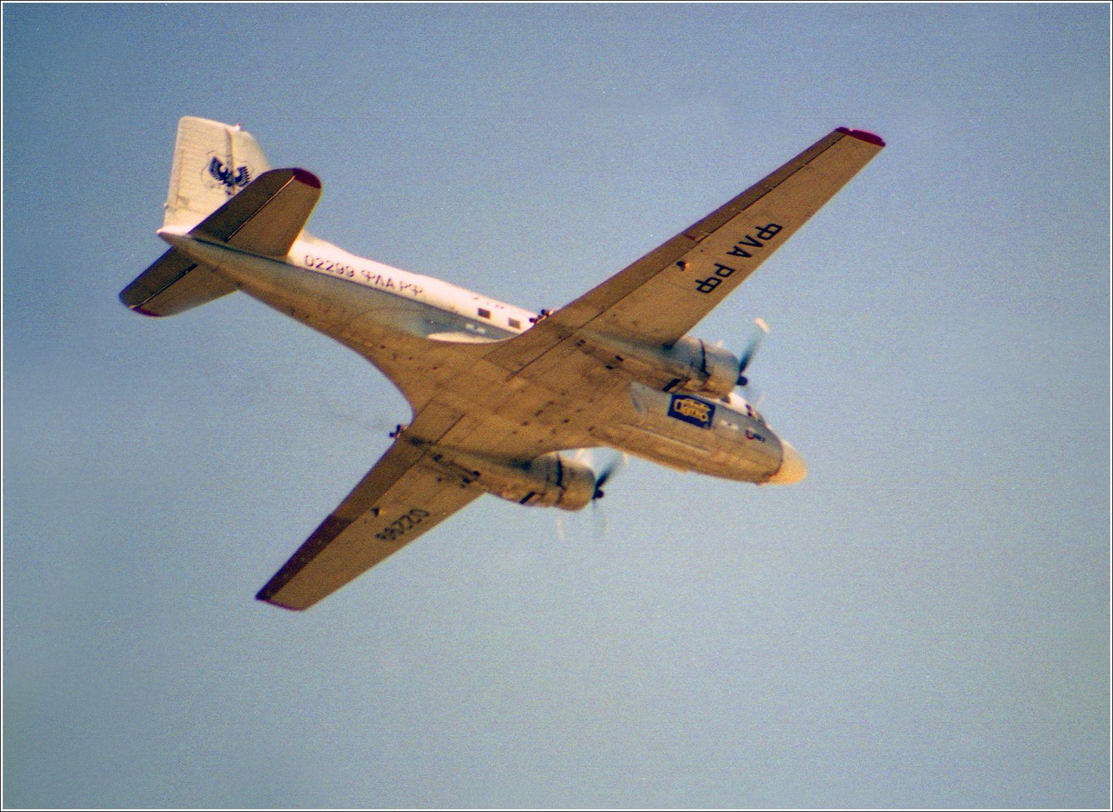 Ил-14 (1998 г.) Ил-14 авиация самолет полет Жуковский 1998