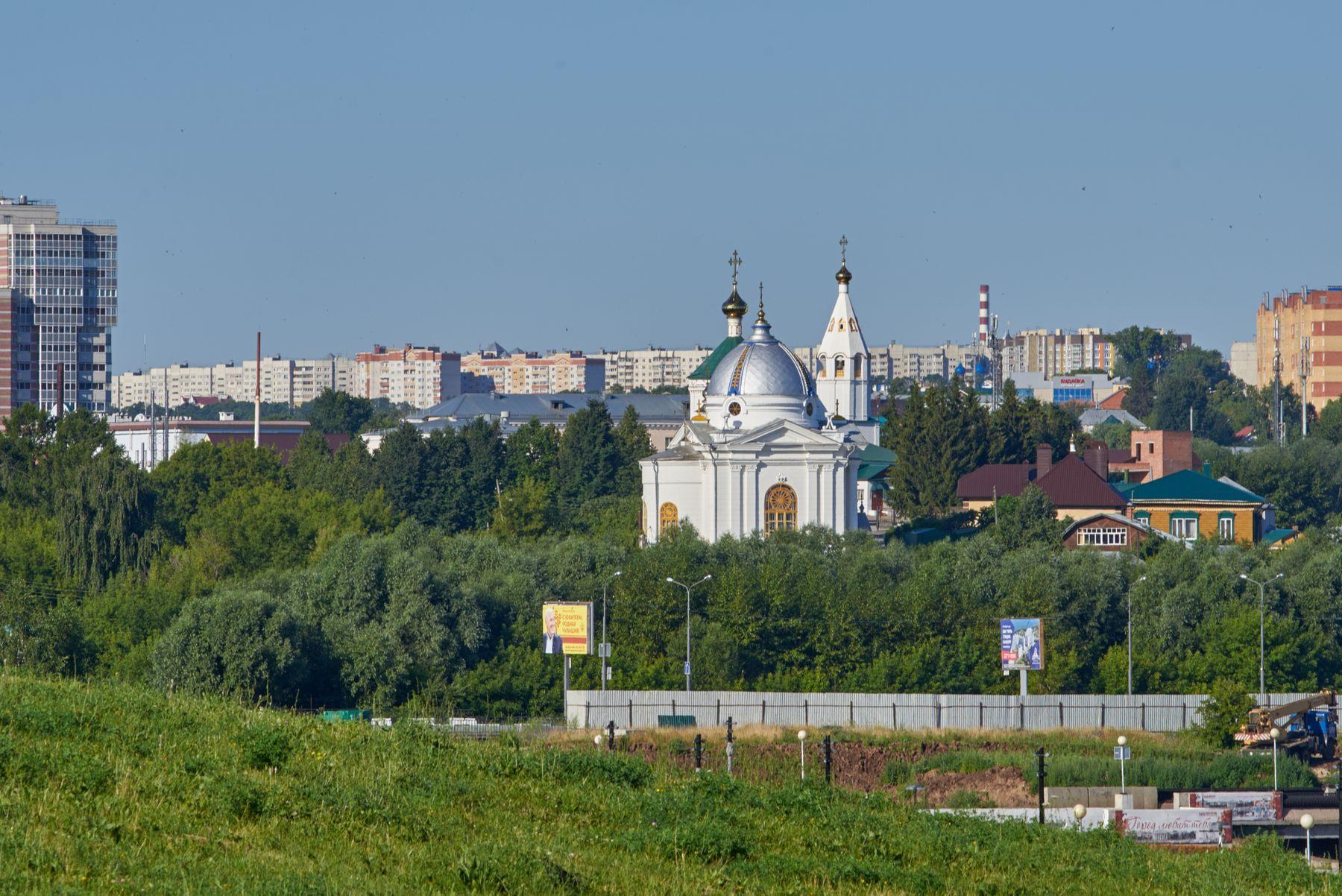 Чебоксары накануне Петрова дня. Петров день церковь монастырь