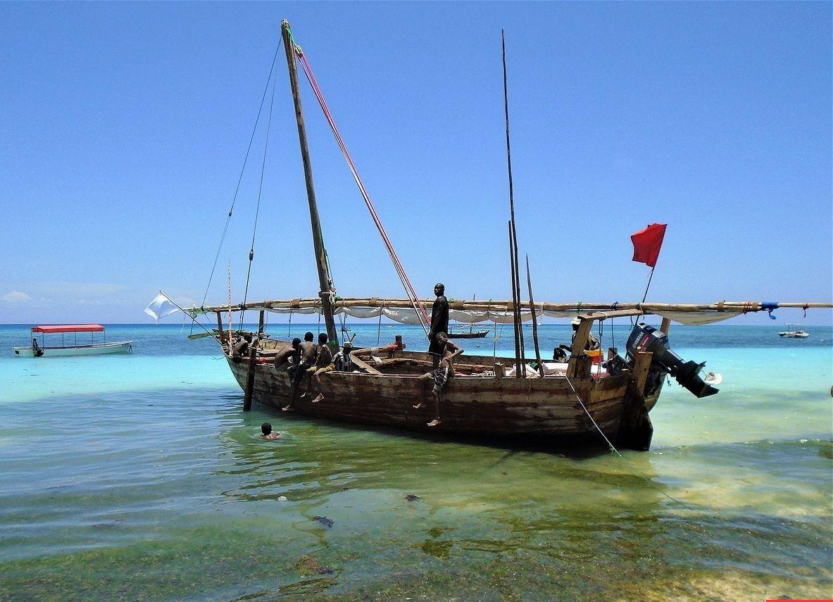Танзания. Побережье острова Занзибар. африка танзания занзибар