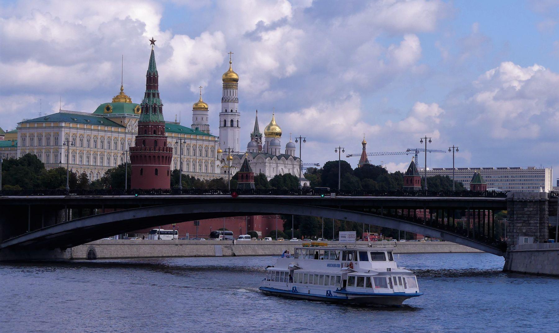 Москва златоглавая Москва храмы башни Кремля