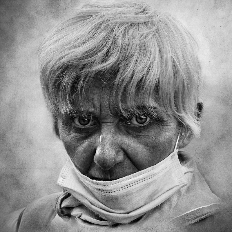 covid возвращается портрет квадрат КалининЮрий чбфото уличная_фотография Юрец люди лица город Санкт_Петербург фотограф