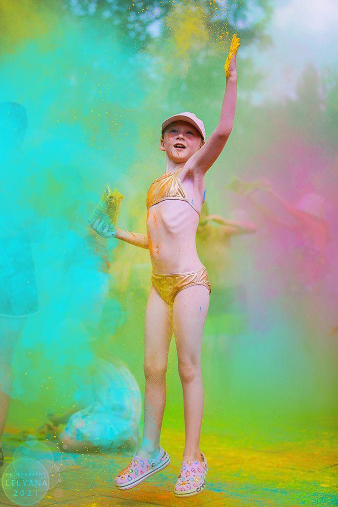 ~ Леляна Маркина Агата Хананская lelyana markina agata hanansky holi холи краски color splash взрыв цвет