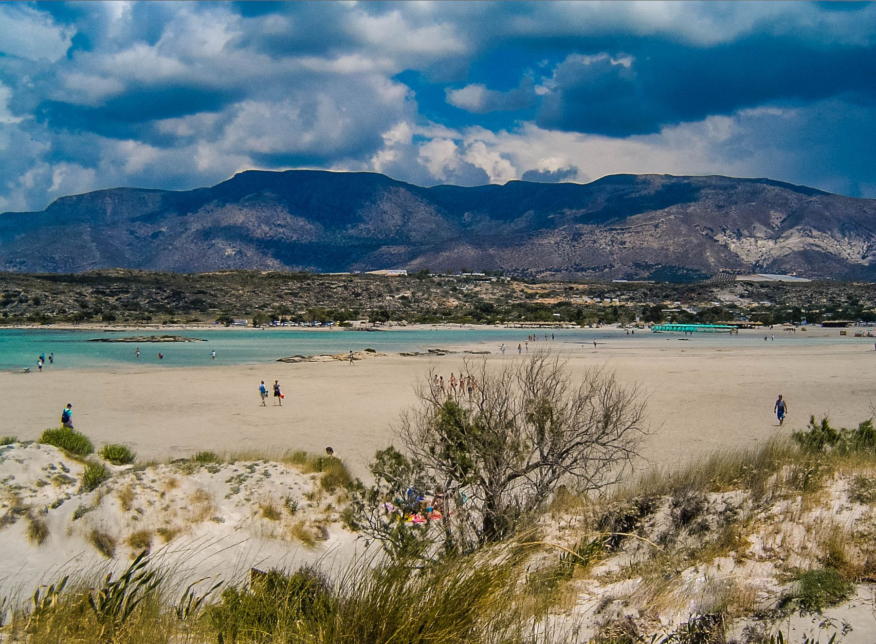 Пляж, Крит (13.06.2006)
