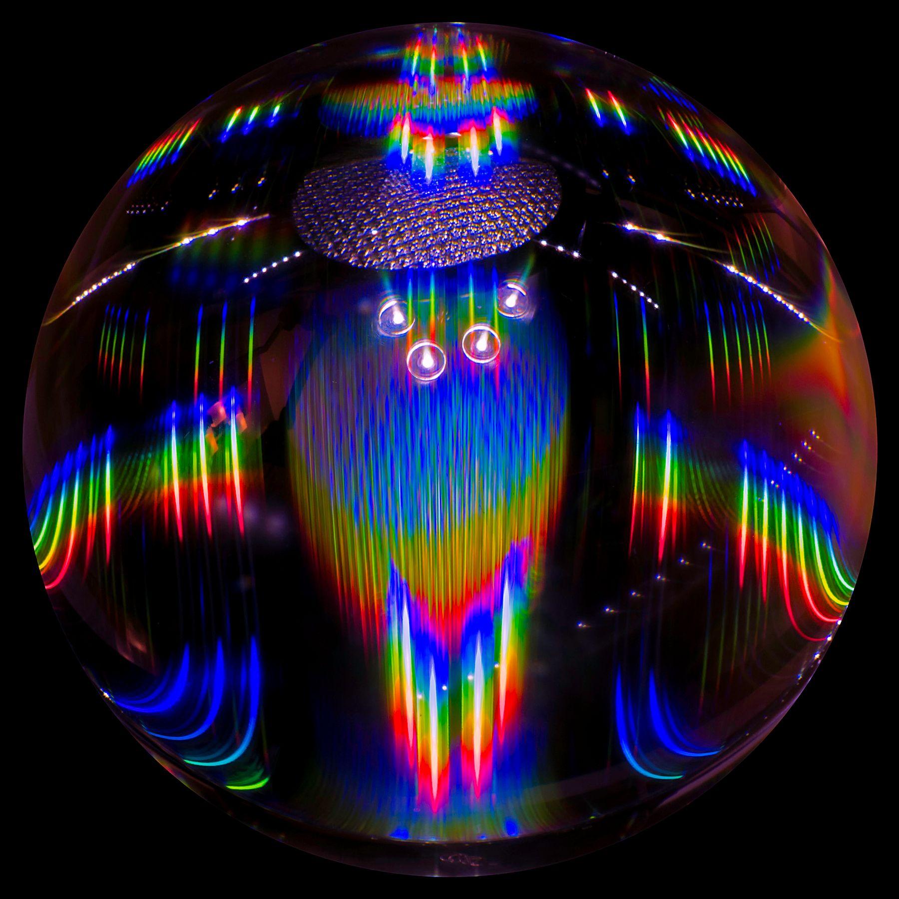 Селфи моего корабля в просторах соседней Вселенной хрустальный шар Вселенная