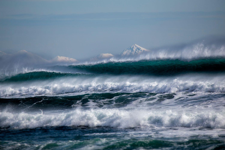 Тихий океан волна волны камчатка море океан пейзаж прибой россия шторм