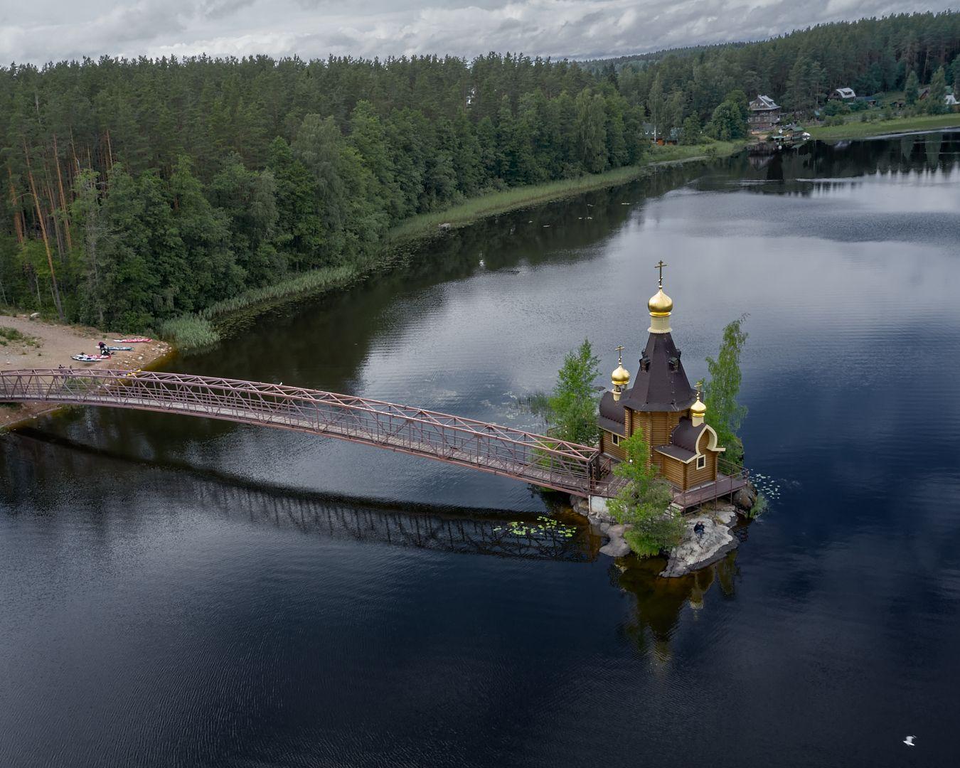 Храм Андрея Первозванного на водах, Ладога