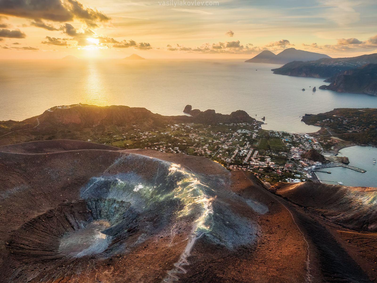 Остров Вулкано сицилия италия фототур яковлевфототур василийяковлев