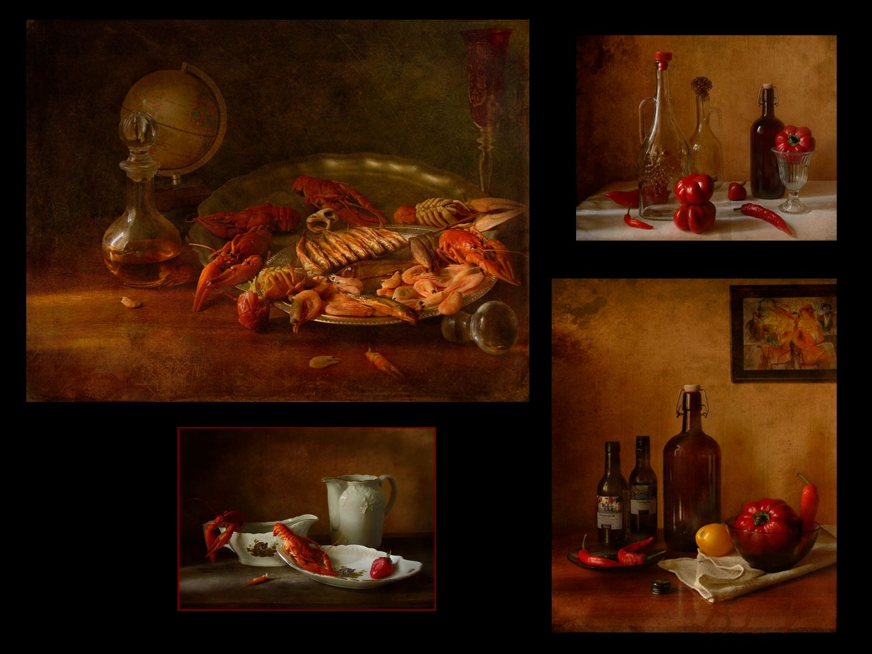 По волне моей памяти(из архива)..Ужин на двоих натюрморт панно архив ужин средиземноморская диета