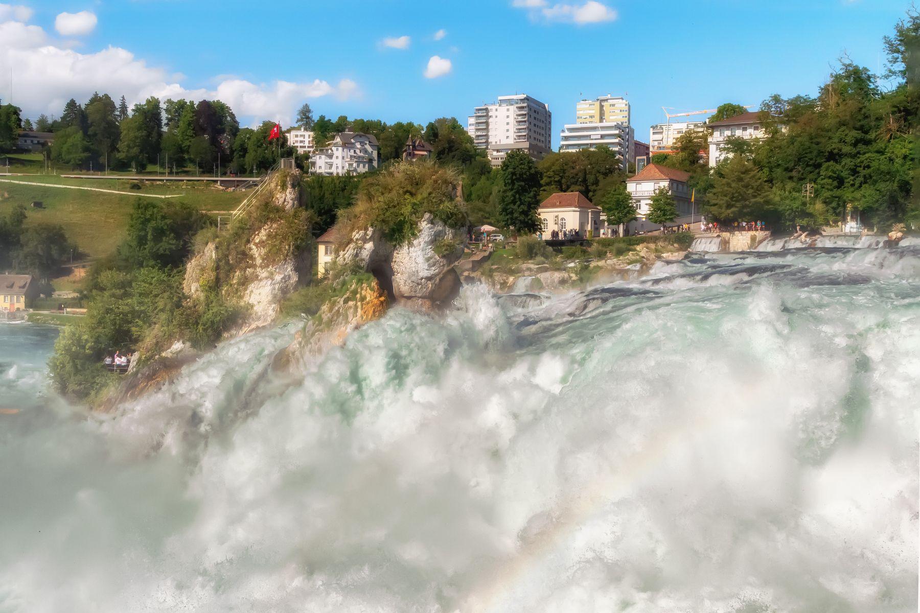 Рейхенбахский водопад водопад Рейн