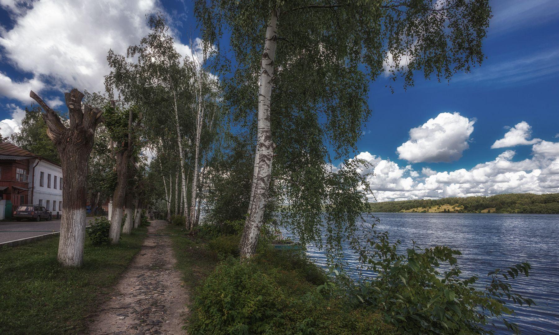 Один летний день в Плесе Ивановская область Плёс