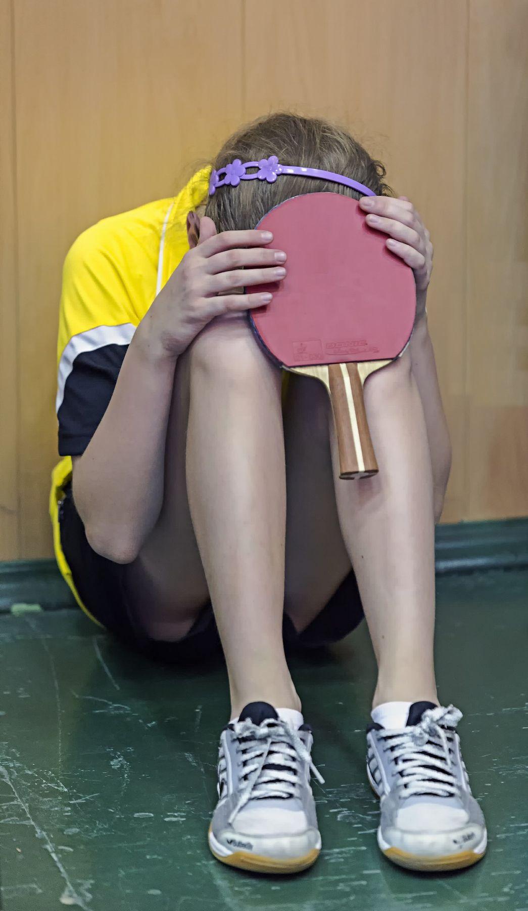 """""""Горе горькое по свету шлялося..."""" (c) настольный теннис пинг-понг спорт table tennis ping-pong sport girl"""