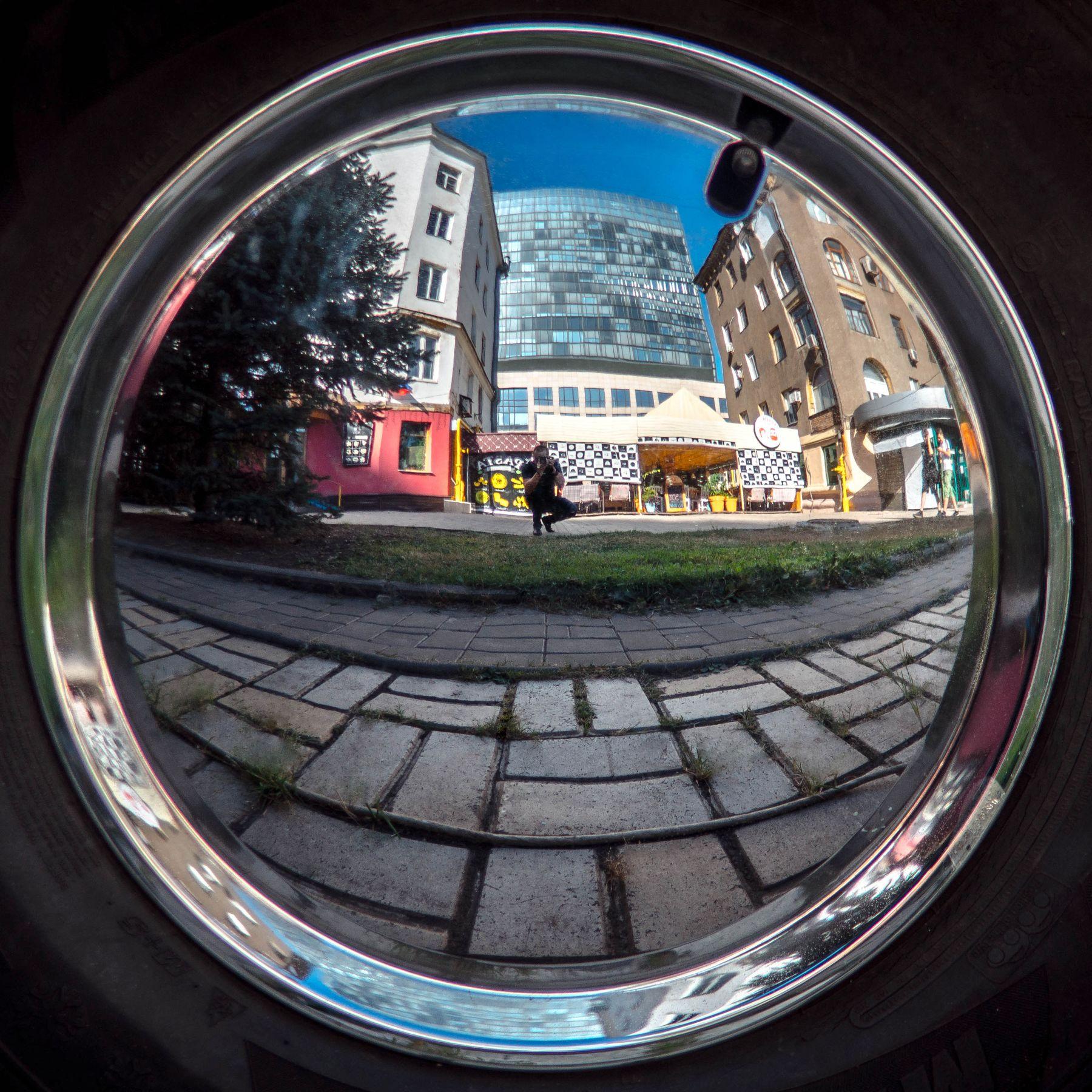 селфи селфи отражение город