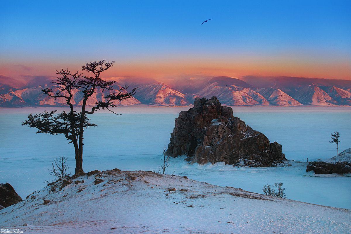 туры Байкал зимой озеро Байкал зимой Остров Ольхон Хужир туры