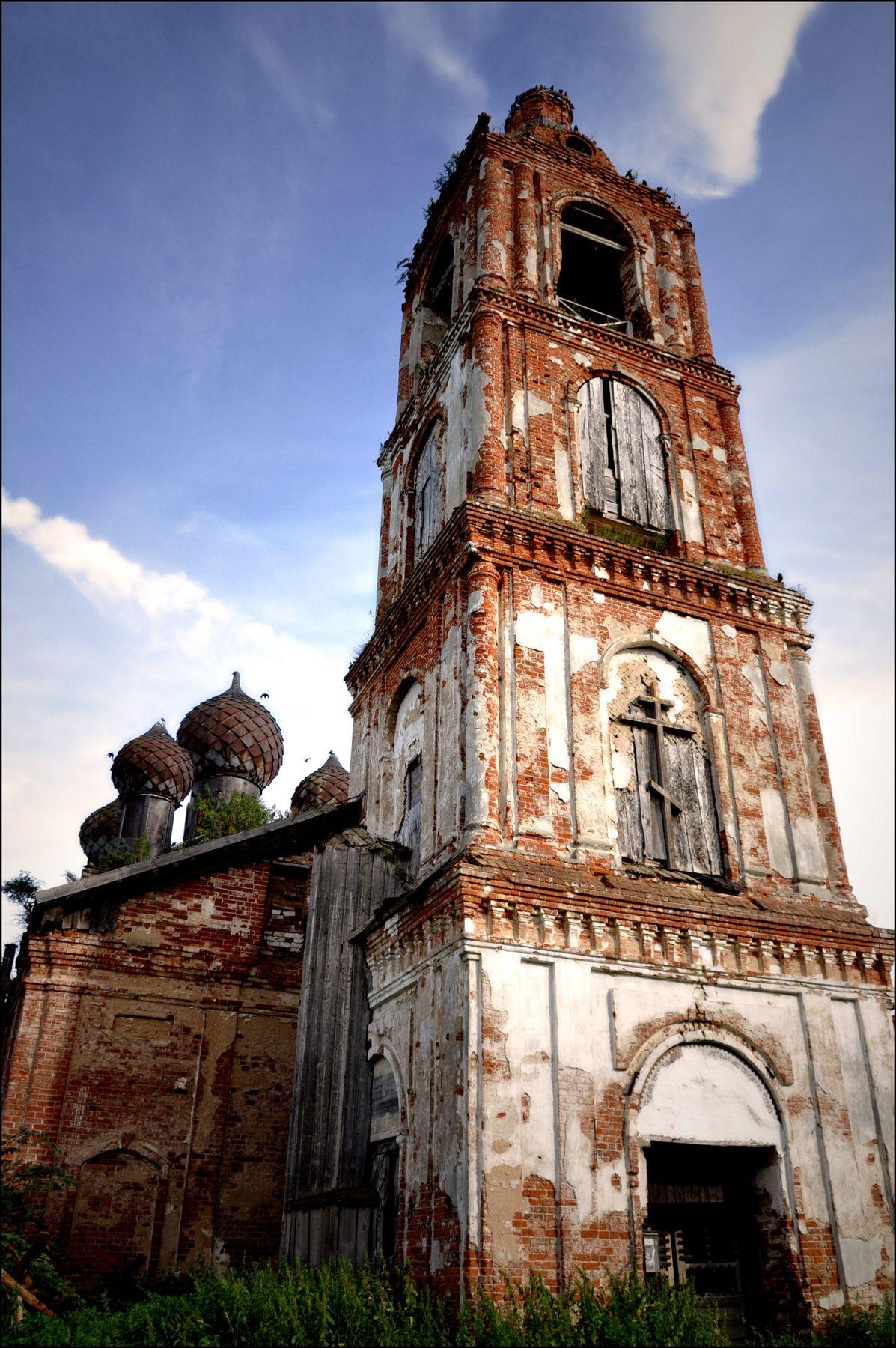 Церковь Богоявления Господня в Семендяево
