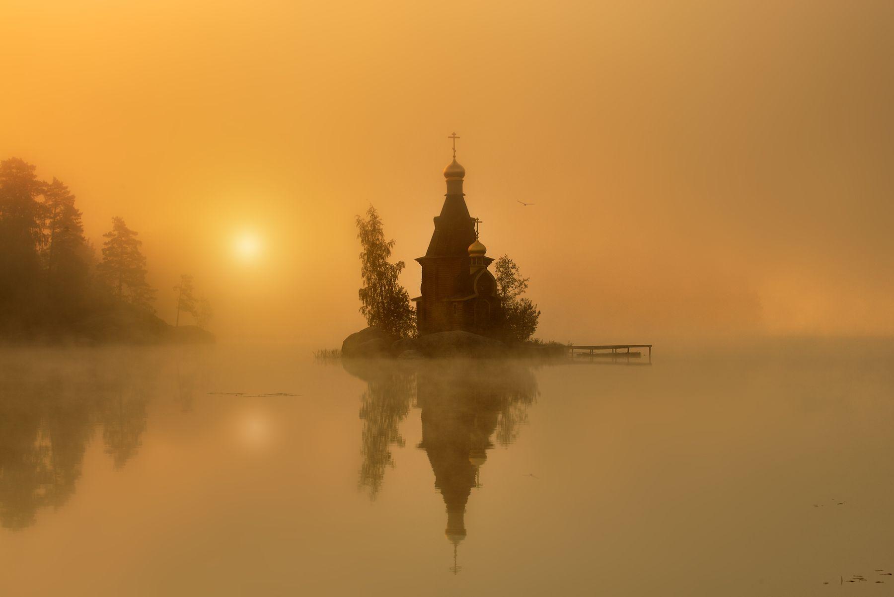 Церковь Андрея Первозванного на Вуоксе...