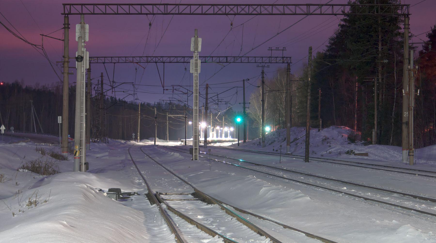 Станция Орехово Орехово железная_дорога станция