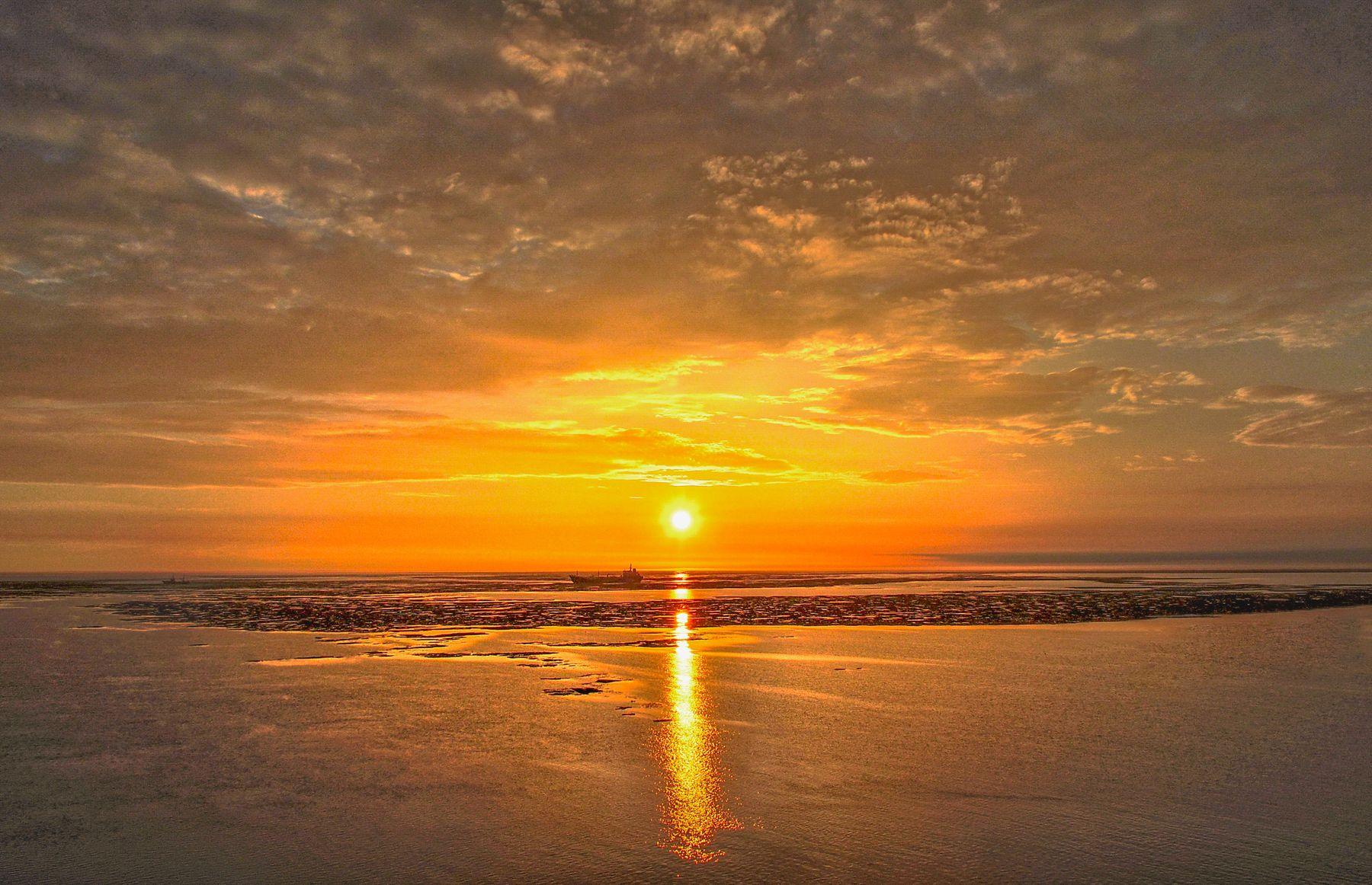 Красное золото восхода