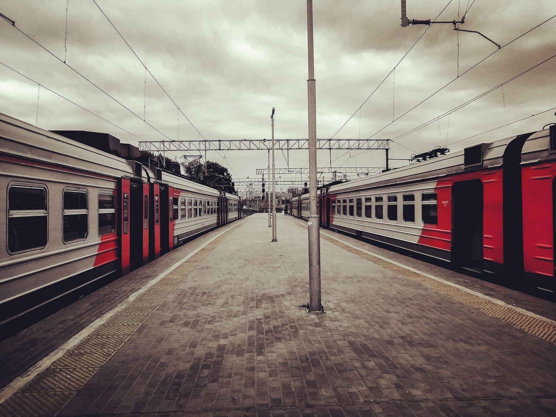 Station электричка поезд поезда станция