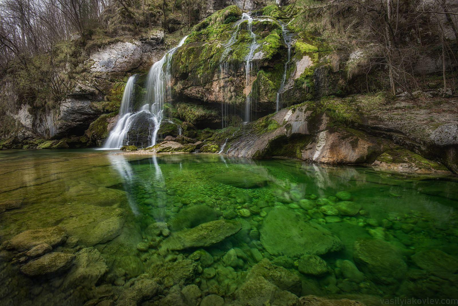 Водопад Virje словения фототур яковлевфототур василийяковлев