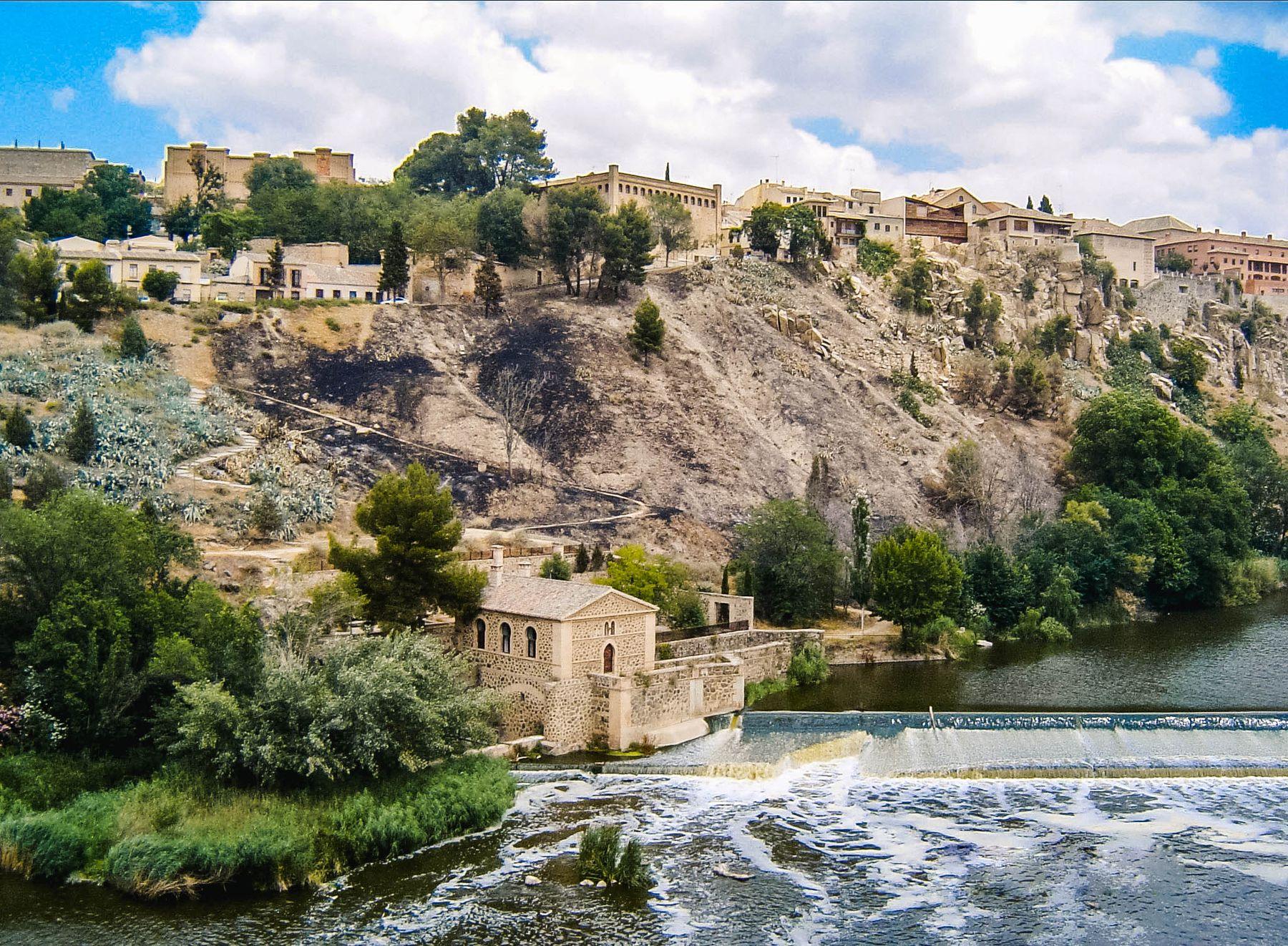 Река Тежу, Толедо, Испания (13.06.2005)