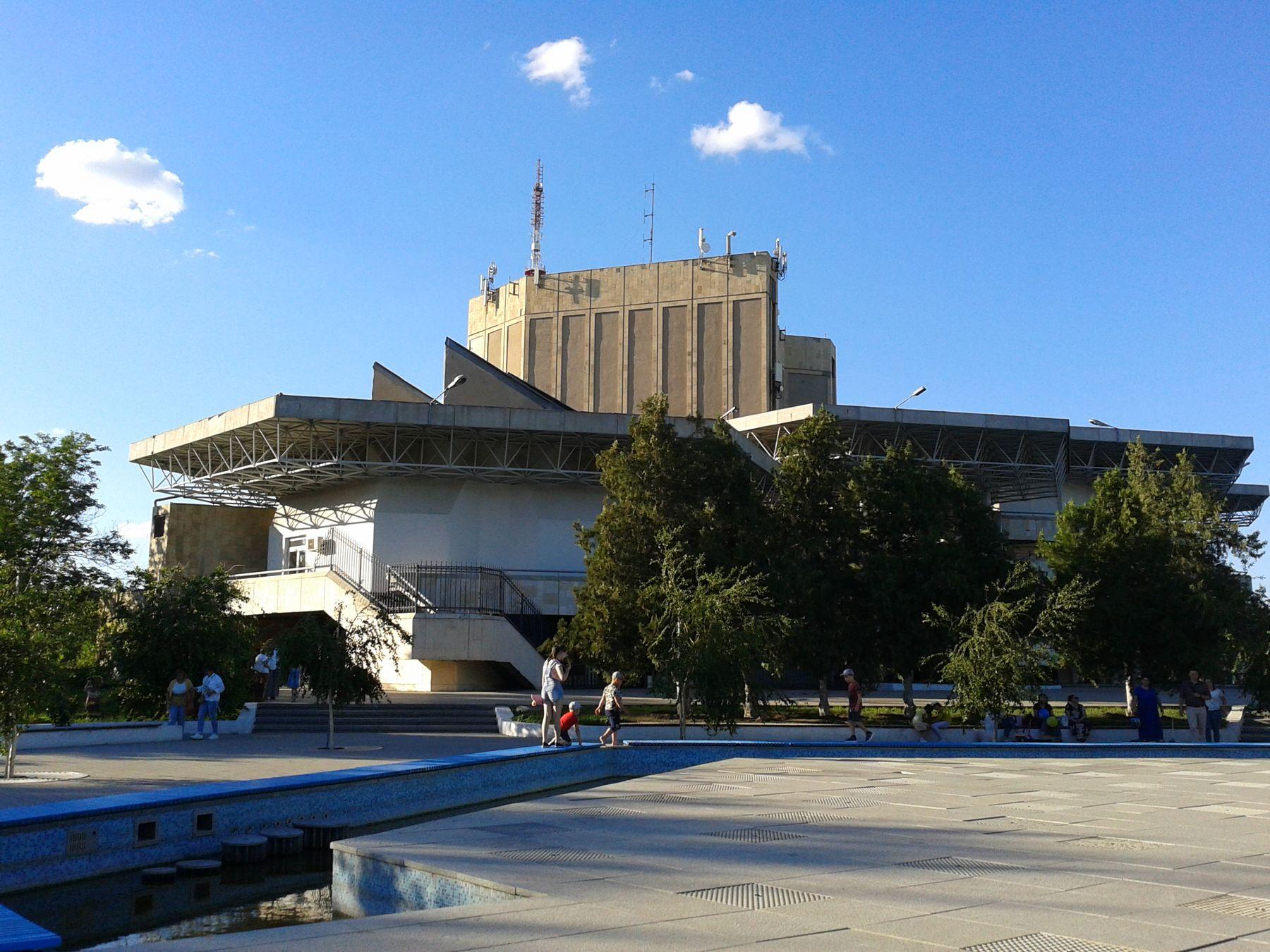 Театр, однако театр город архитектура Астрахань