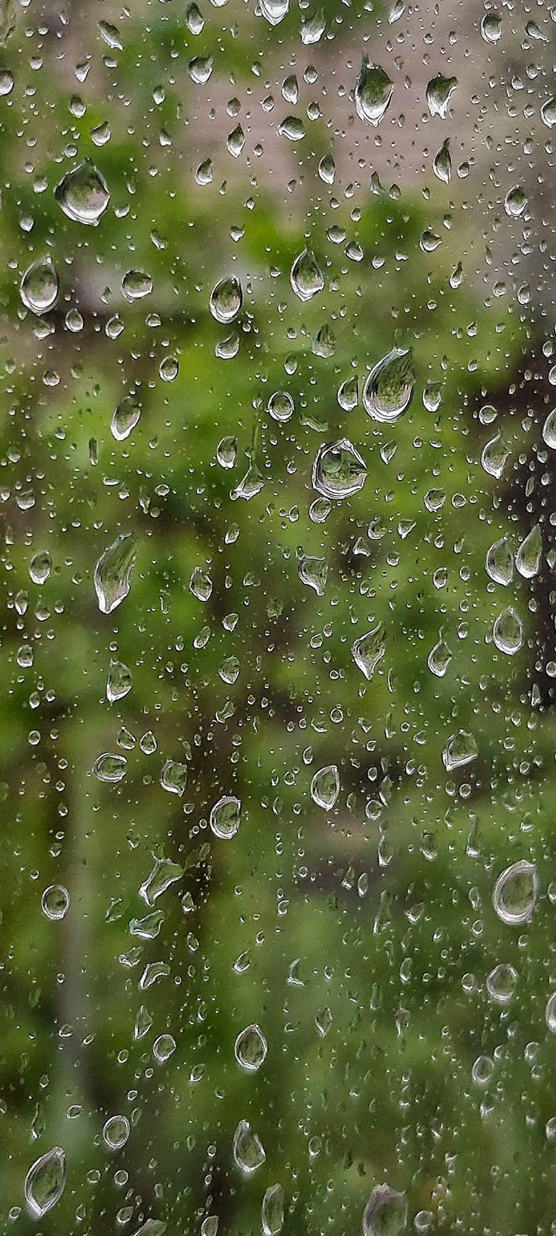 Весенний дождь Дождь капли на стекле весна май