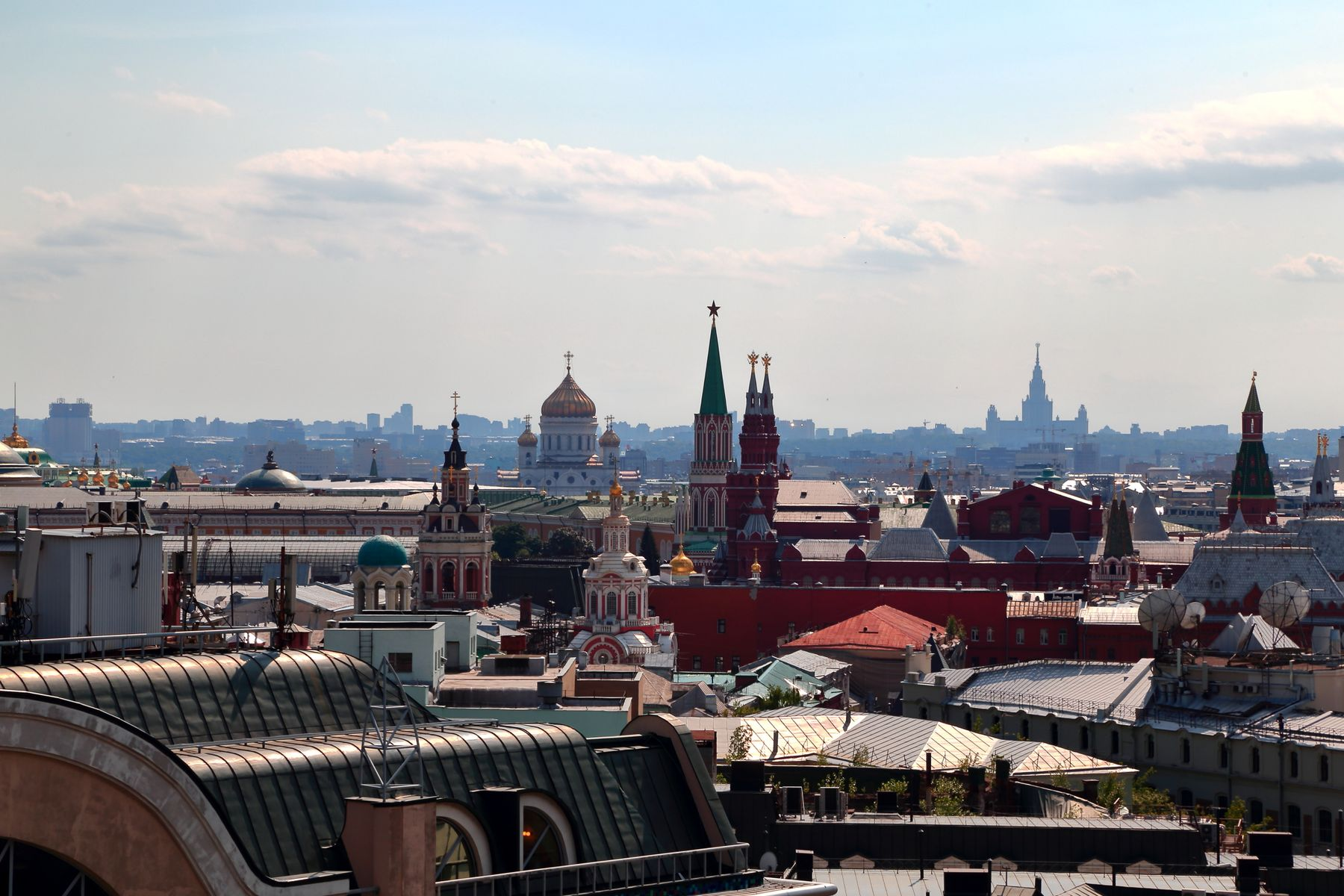 Панорама города1 Москва