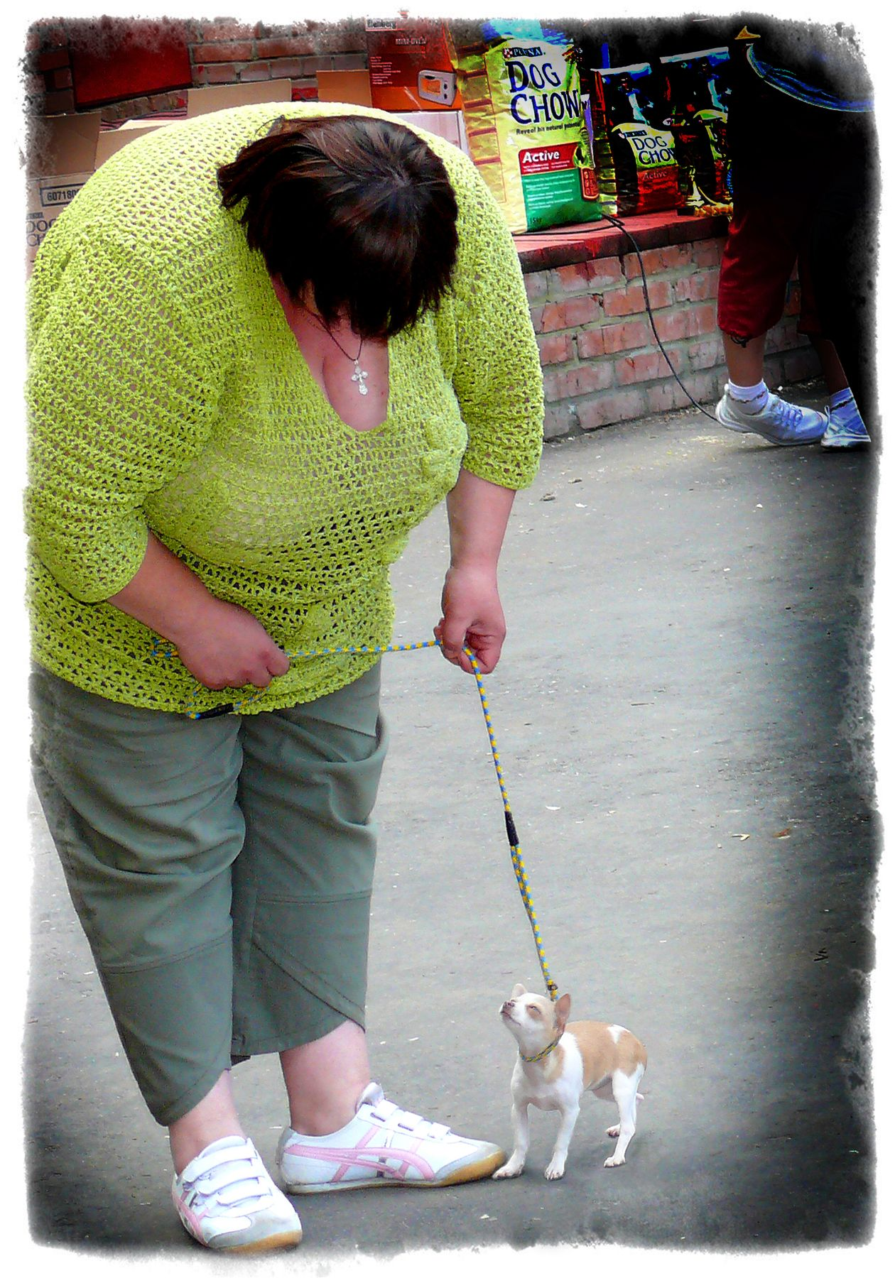 Большая любовь! Собачка женщина крупная выставка