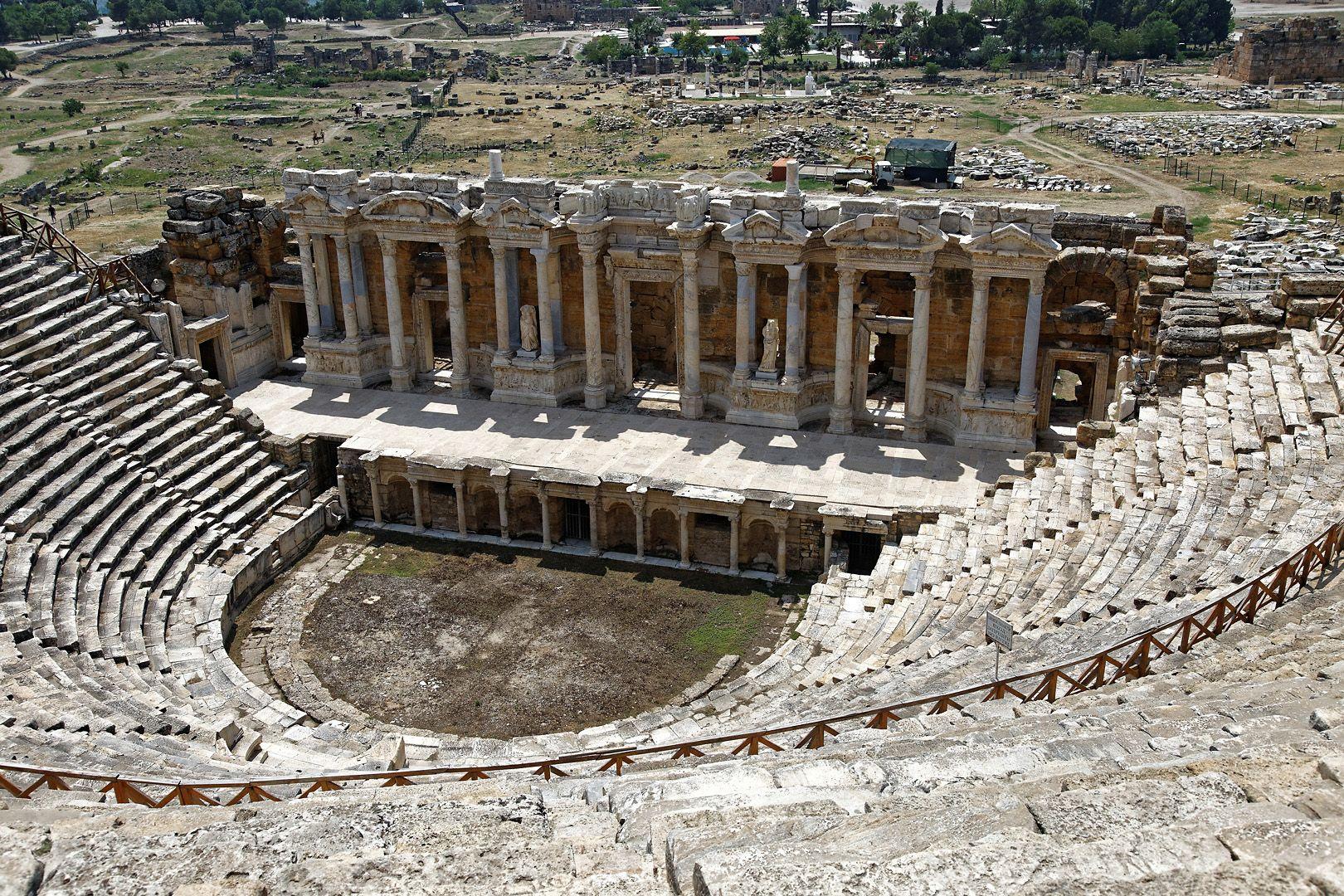 Амфитеатр Pamukkale Turkey