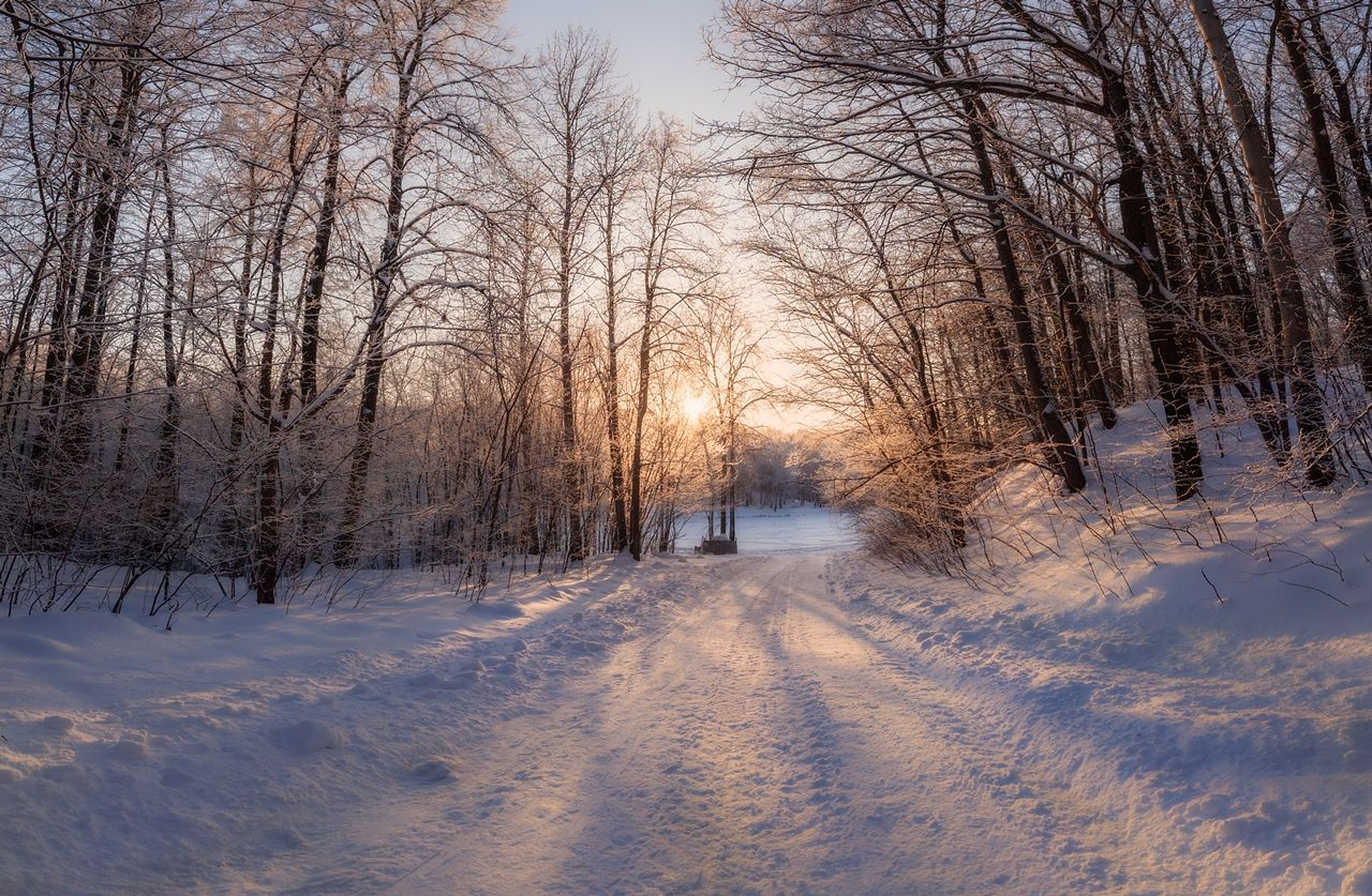 Теплеет зима снег Нижний Новгород