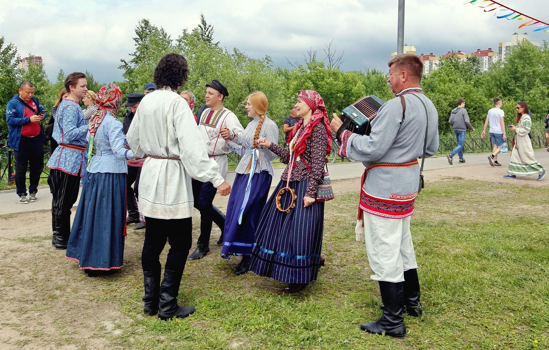 Бояре, а мы к вам пришли! Санкт-Петербург День России