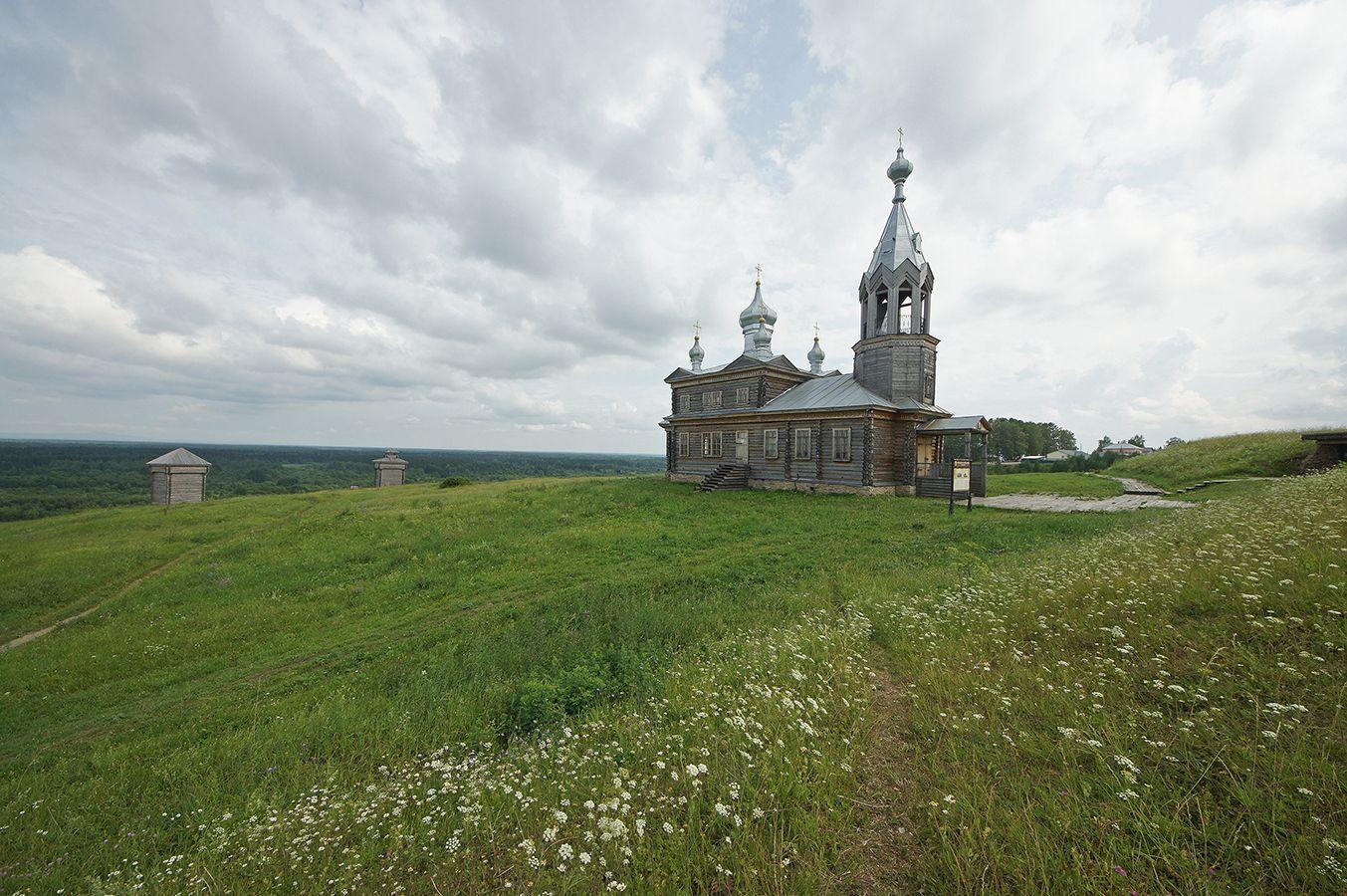 *** Чердынь церковь