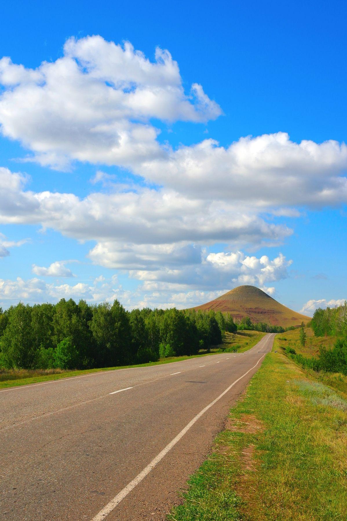 Дорога к Сусактау