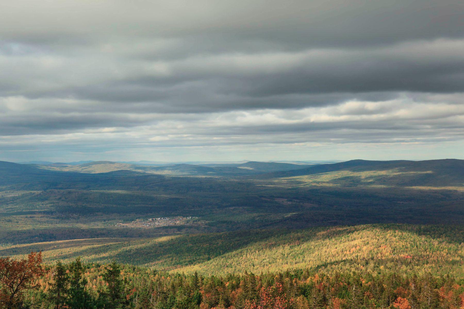 *** Качканар гора небо осень