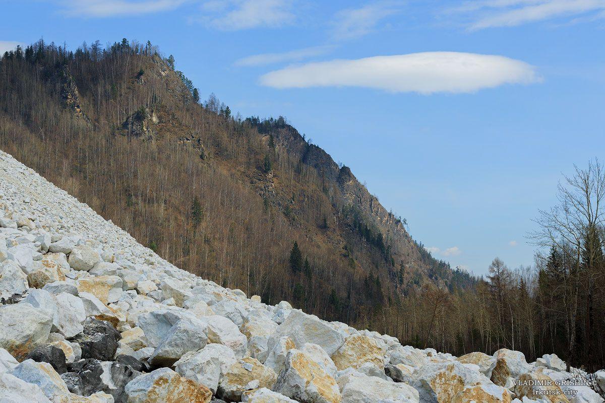 *** белый мрамор в горах Хамар-Дабан фото