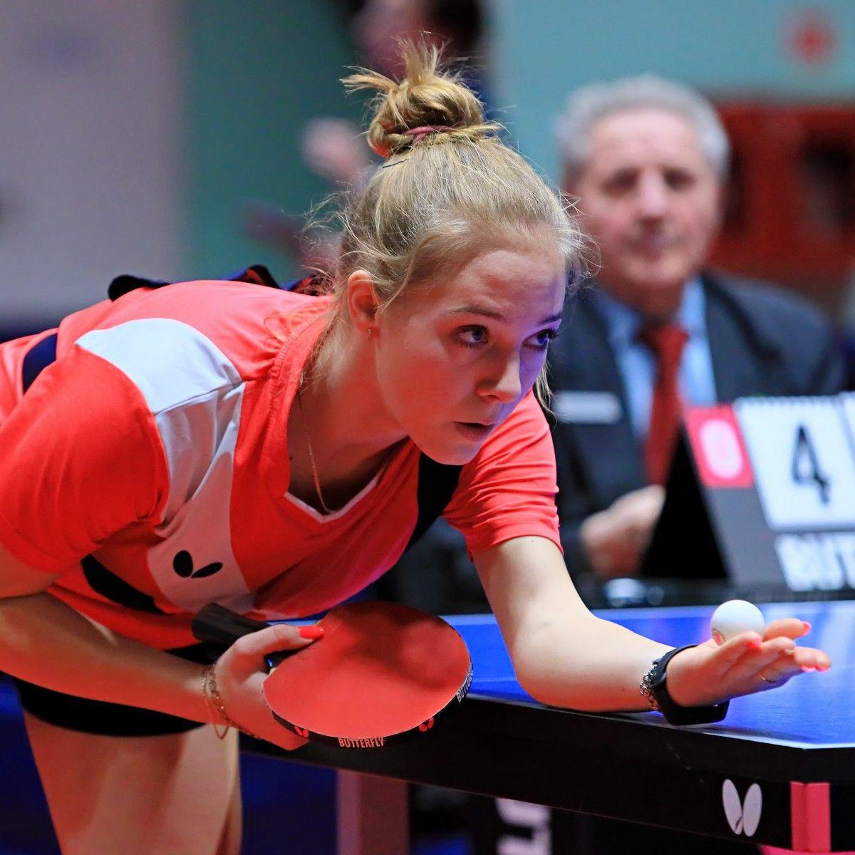 Анастасия Карпушина. настольный теннис пинг-понг спорт table tennis ping-pong sport girl