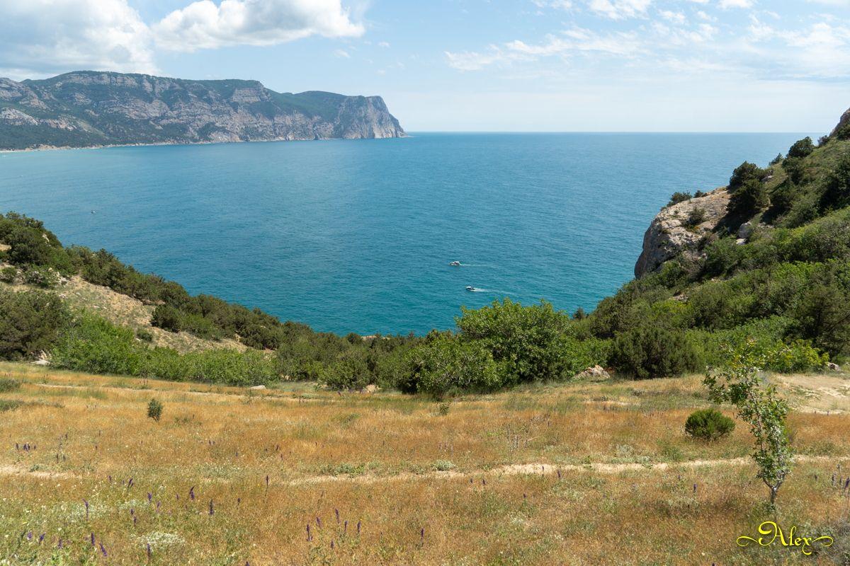 Балаклава Крым Чёрное море пейзаж лето Балаклава горы