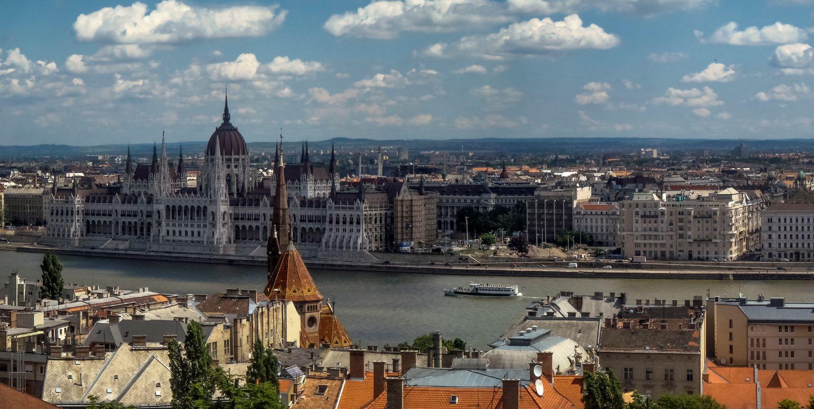 ***Весеннее утро в Будапеште.