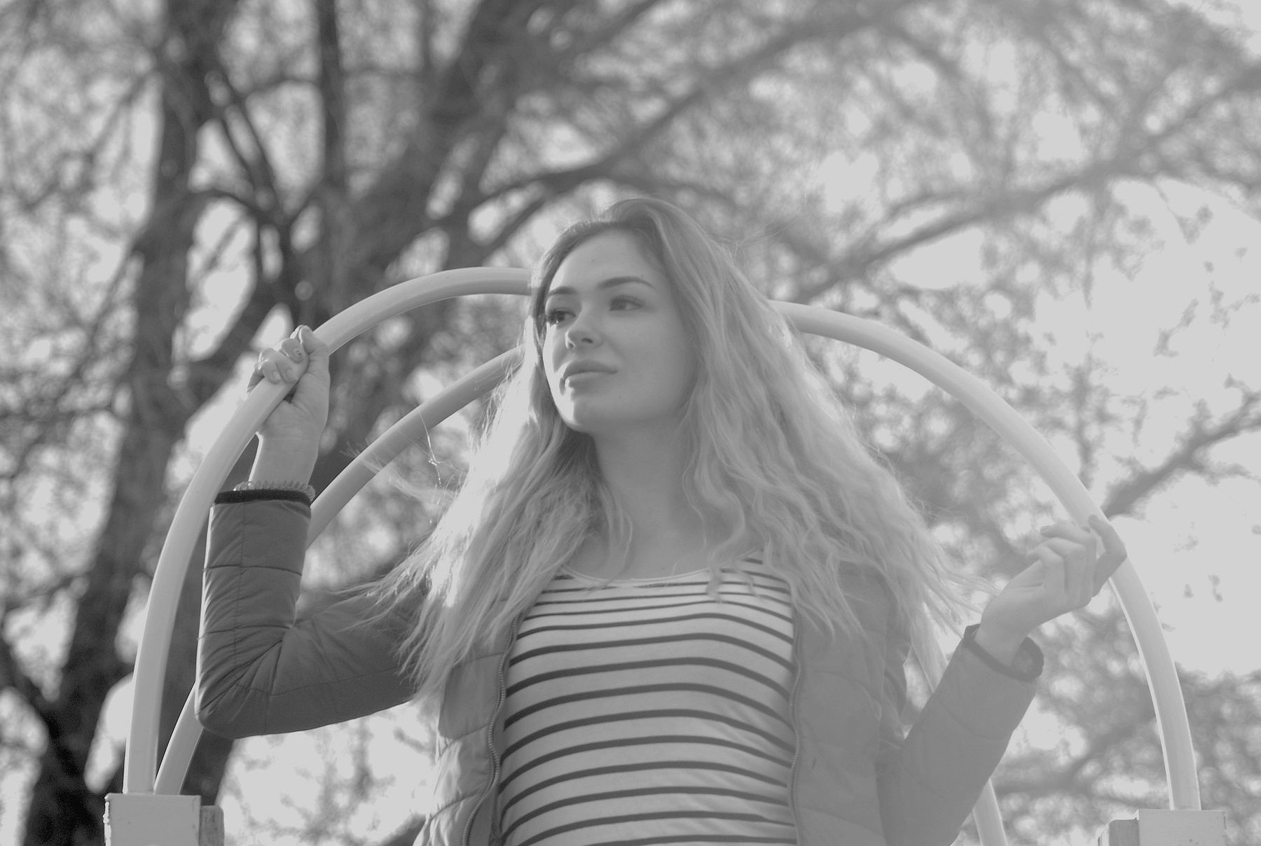 Диана портрет модель фотоувеличитель