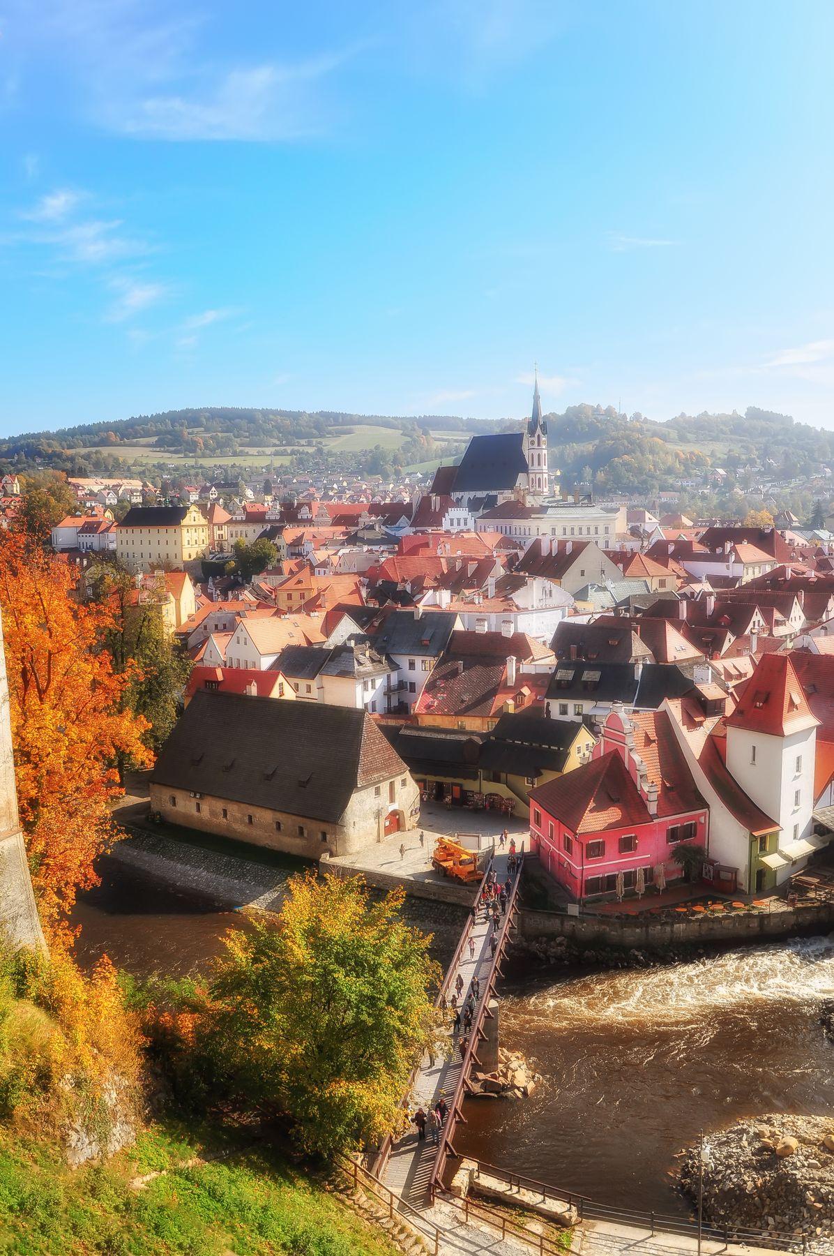 Прозрачная осень Осень Чехия