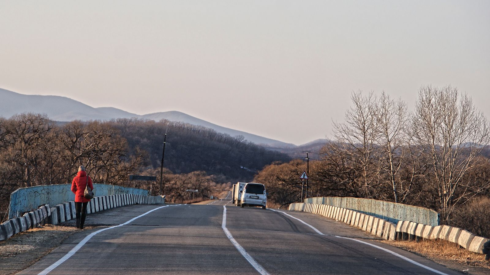 все в Китай Краскино дорога на Хунчунь уходят в Китай