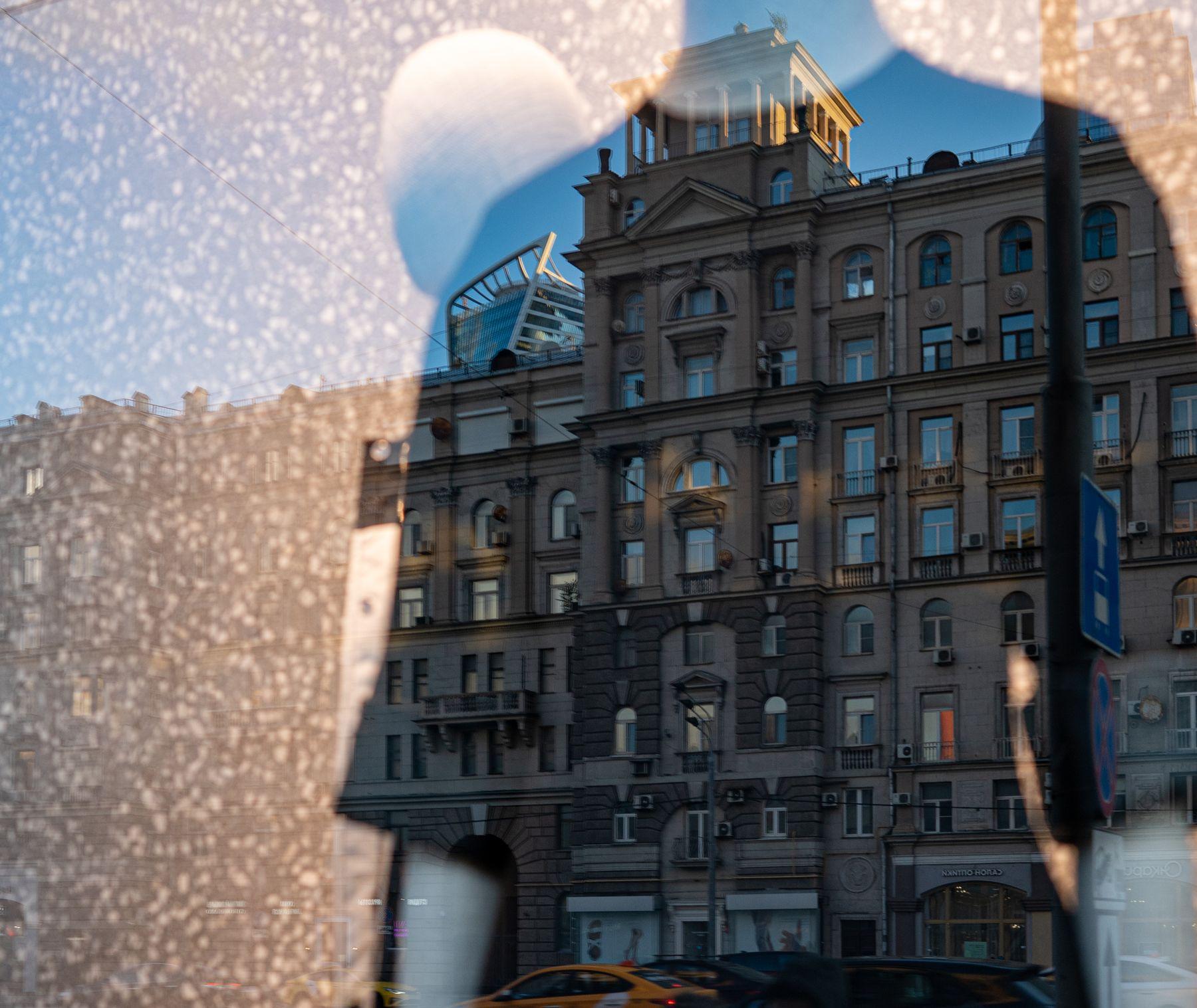 Москва в отражении Владимир Беляев москва отражение