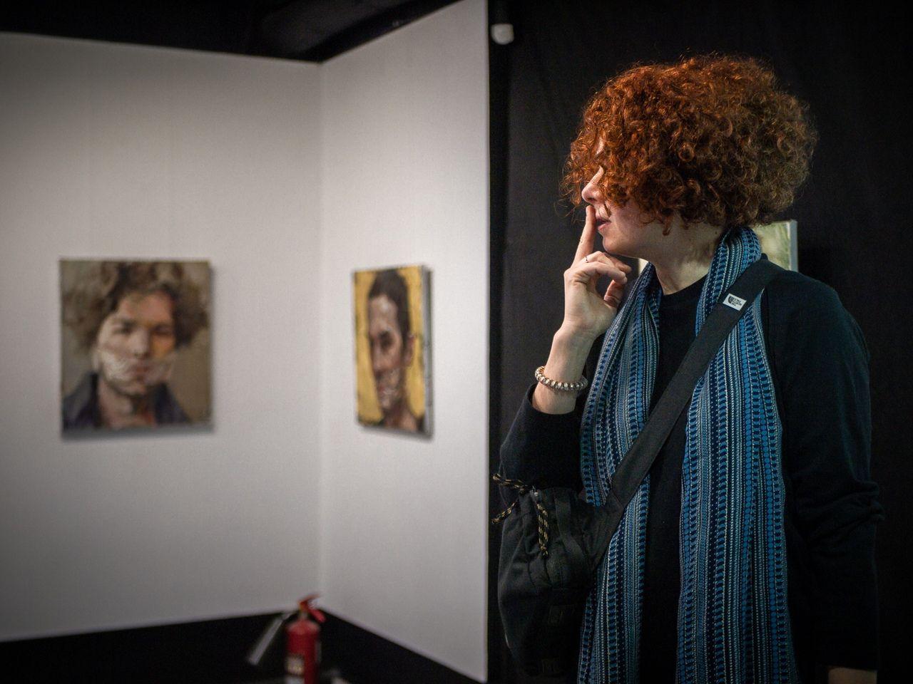 Открытие выставки Евгении Шадриной-Шестаковой