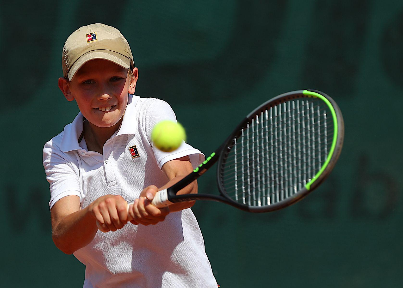 Юношеский чемпионат... tennis big moscow junior russia racket ball court Alextennis